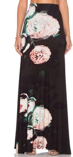 cdd2bb41c6 Stillwater The High Waist Maxi Skirt - ShopStyle Long. Jersey Knit ...