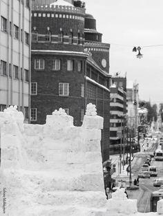 Winter, Helsinki