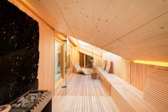 bad wellness pool on pinterest saunas outdoor baths and pull out shelves. Black Bedroom Furniture Sets. Home Design Ideas