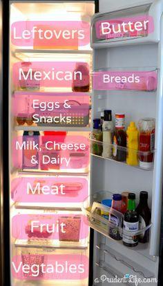 How to organize your refrigerator!