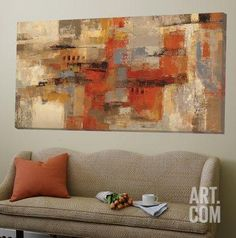 City Wall Loft Art by Silvia Vassileva at Art.com