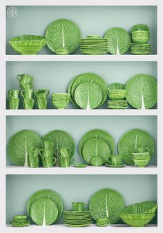 Dodie Thayer for Tory Burch lettuceware.