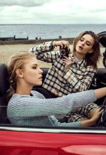 Hello! Fashion Monthly – British Seaside | Lara Jade