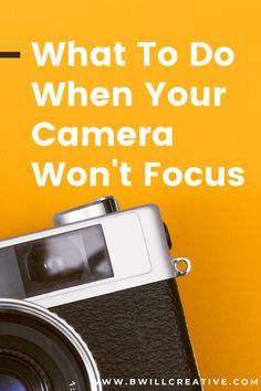 Aren't sure why your camera won't focus correctly? Try these 6 things to fix your focus problems and start capturing sharp photos again!  #BeginnerPhotography #CameraWon'tFocus #PhotographyTips #CameraFocus #FocusTips #BlurryPhotos Photography Composition Rules, Implied Photography, Photography Terms, Photography Tips For Beginners, Photography Gear, Photography Tutorials, Sharp Photo, Take Better Photos, Camera Settings