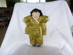 Waldorf doll I redress for the kndergarten.