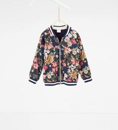 ZARA - COLLECTION AW16 - Floral bomber jacket
