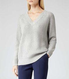 Reiss Willaston Shimmer Knitwear