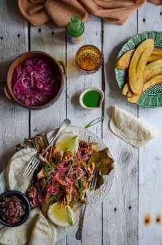 Puerco pibil tacos - slow roasted pork | heneedsfood.com