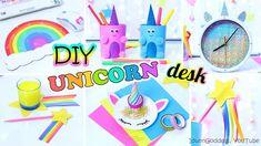 5 DIY Unicorn Style Desk Organization Ideas - How To Decorate Your Desk ...