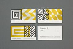 Design and illustration boutique Eight Hour Day created the visual identity for Engler Studio. The identity underlines the interior design Corporate Design, Brand Identity Design, Graphic Design Branding, Modern Graphic Design, Graphic Design Inspiration, Typography Design, Logo Design, Corporate Branding, Business Branding