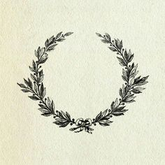 Laurel wreath - Wreaths were awarded in Ancient Rome to those who were victorious in some way