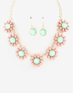 Becca Necklace in Spring Bloom