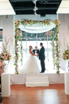 Photos beautifully done by George Street Photo & Video! Congratulations to the incredible couple, Mr. & Mrs. Weinhaus! Floral by Beco Flowers. Hair by Christy Bell. Makeup by Makeup by Angela. Coordination by Events by Elle. Cake by Classic Cakes. Ceremony & Reception at The Gallery Event Space.