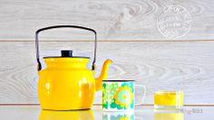 Arabia-Wärtsilä - Finel - Elisa - Yellow Kettle - Kahvipannu