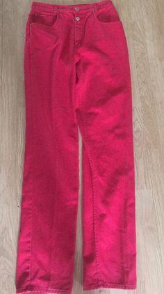 "Juniors Sz 11 100 Cotton Red Riding Jeans Lawman Denim Tall 48"" Long Horseback   eBay"