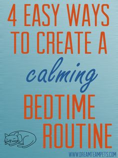 Create an easy bedtime routine for toddlers and kids who have a hard time sleeping in their own bed.