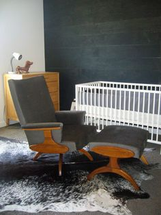 A modern rocking chair for our nursery  AFTER