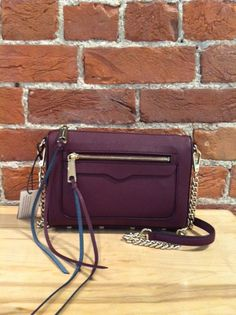 Rebecca Minkoff - Mini Avery Crossbody in Black Cherry