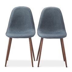 Porter Mid Century Modern Dining Chairs (Set of 2) $94