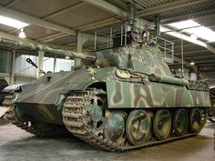 Pzkpfw V Panther Ausf G Sperber FG 1250 Infrared Night Vision, the first with this equipment