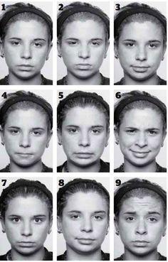 Ekman emotion recognition test