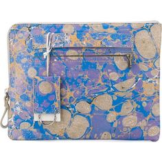 Marsèll printed clutch bag ($500) ❤ liked on Polyvore featuring bags, handbags, clutches, multicolour, colorful handbags, colorful purses, multi colored leather purses, blue handbags and colorful leather handbags
