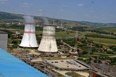 Reactoarele 3 si 4 ale centralei din Cernavoda Sailing Ships, Sailboat, Tall Ships