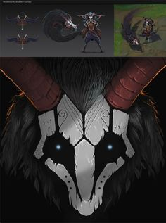 Bloodmoon Kindred concept