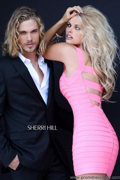 Sherri Hill Short Pink