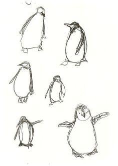 i drew some penguins