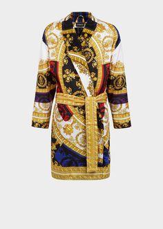 e7f44414350 Silk I ♡ Baroque Bathrobe - Versace Home Bathrobes Barokke Mode, Tijdloze  Mode, Witte