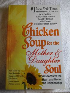 Mother's Day SAME DAY SHIP Chicken Soup for the Mother & Daughter Soul