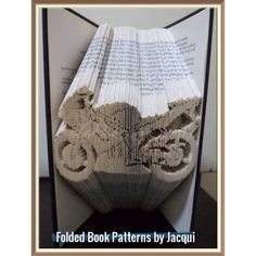 Harley Book Folding Patterns / Templates and Book Folding Software on Bookami®