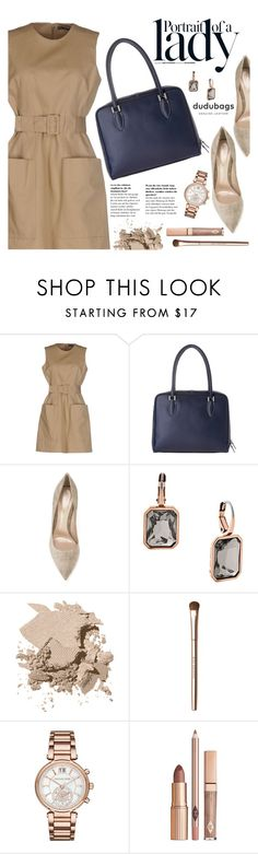 """Portrait Of A Lady"" by pokadoll ❤ liked on Polyvore featuring Inez & Vinoodh, Alexander McQueen, Gianvito Rossi, MICHAEL Michael Kors, Bobbi Brown Cosmetics, Fashion Fair and dudubags"