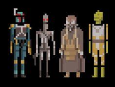 Bounty Hunters Star Wars by welovefine on deviantart