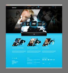 Web design inspiration- Very cool slash dimension