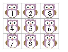 For April. One per index card for a calendar journal I want to try. Owl Calendar Numbers and split and Fall Activities For Toddlers, Owl Theme Classroom, Calendar Numbers, Alphabet Templates, Calendar Journal, Purple Owl, Crochet Owls, Kindergarten Learning, School Posters