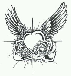 I want this as a memorial tattoo for my Uncle Louie his bday is on Valentines day and he always got me roses, and he passed away in '02. so bday and his death date