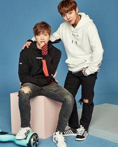 """Jihoon and Daniel for Zyrodrone "" Jinyoung, Dan Lin, No Min Woo, You Are My Life, Lee Daehwi, Produce 101 Season 2, Woo Young, Kim Jaehwan, Ha Sungwoon"