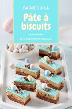 Un dessert de Pâques complètement décadent! Cookie Dough Bars, Cookie Dough Recipes, Cookies Et Biscuits, Grocery Store, Fudge, Brownies, Muffins, Nutrition, Easter