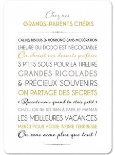 Un cadeau mignon pour Grand-mère – Best Pins Live Cadeau Grand Parents, Tears In Heaven, Grands Parents, Ramadan Decorations, Diy And Crafts, Parenting, Messages, Phrases, Newport