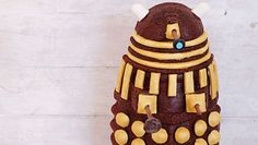 Red velvet Dalek cake recipe from Doctor Who