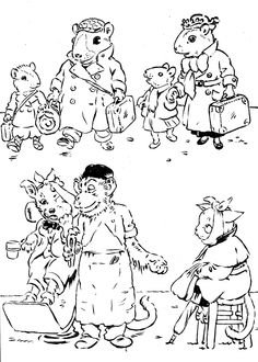Mes animaux : album à colorier / Gaston Maréchaux, 1935 http://gallica.bnf.fr/ark:/12148/btv1b10509226d