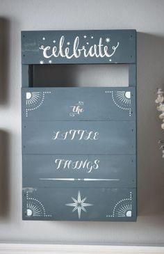 Martha Stewart Crafts® Vintage Decor DIY Pallet Sign