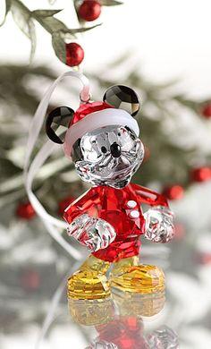 Swarovski Mickey Mouse Christmas 2013 Ornament