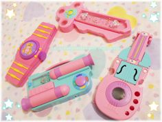 Starlight Deco Dream is the name of a magical cute handmade accessories brand made by Candy Melange aka DREAMY KYANDI. Cute Pencil Case, Pencil Cases, Slouch Socks, 90s Childhood, Office Art, Handmade Accessories, Vintage Toys, Action Figures, Eye Candy
