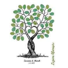 Kroucený strom v PDF k tisku / Zboží prodejce Zuzana Atanasov