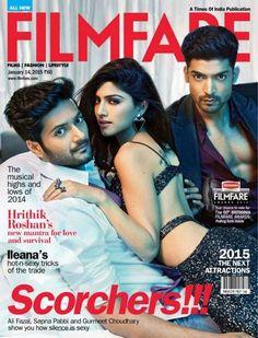 Sapna Pabbi FilmFare Magazine Cover Janaury 2015