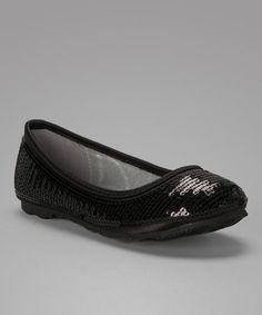 Another great find on #zulily! Black Regal Ballet Flat #zulilyfinds