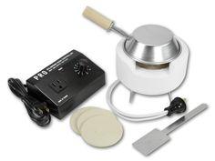 Ultra-Lite Beehive Kiln, Temperature Controller, Metal Clay Firing Inserts